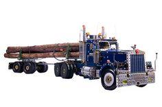 Meccano Kenworth Logging Truck and Trailer by Philip Webb | Flickr: partage de photos!
