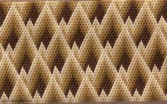 bargello needlepoint patterns | ... and Bargello Needlepoint - Designer Profile - Nuts about Needlepoint