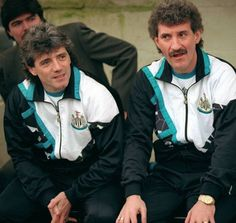 King Kevin and Terry Mac, first game in charge 1992.
