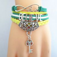 Charm bracelet women infinity friendship bracelets fashion wristband lady 15B8006