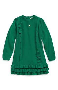 Armani Junior Bow Dress (Baby Girls) available at #Nordstrom