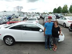 """Very attentive and helpful! Thank you!"" -Kristin R. Thanks Kristin, and a BIG thanks from the Auto Group! We really appreciate the opportunity to earn your business and hope you and Tyler enjoy your new Pontiac G5!"