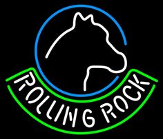 Neon Rolling Rock Beer Sign 2, Rolling Rock Neon Beer Signs & Lights | Neon Beer Signs & Lights. Makes a great gift. High impact, eye catching, real glass tube neon sign. In stock. Ships in 5 days or less. Brand New Indoor Neon Sign. Neon Tube thickness is 9MM. All Neon Signs have 1 year warranty and 0% breakage guarantee.