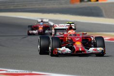 2014 F1 Gulf Air Grand Prix w/Kimi Raikkönen #BahrainGP