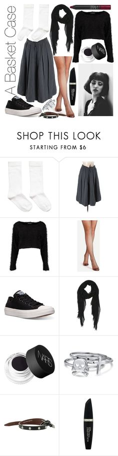 """""""Sincerely Yours: Allison Reynolds"""" by leonorgomes on Polyvore featuring Weekend Max Mara, Boohoo, Converse, NARS Cosmetics, Bling Jewelry, Alexander McQueen and Max Factor"""