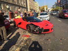Friday FAIL Ferrari LaFerrari Crash