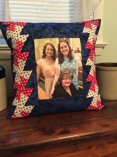 Memory pillow! #SMHstitches