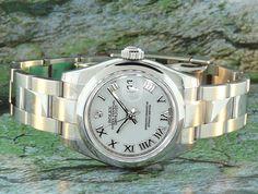Rolex Lady Datejust domed bezel