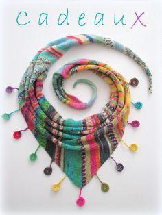 Knitted Shawls, Crochet Shawl, Shawl Patterns, Knitting Patterns, Knitting Socks, Hand Knitting, Diy Scarf, Wrap Pattern, Beanies