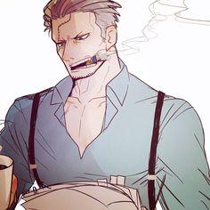 One Piece, Smoker One Piece Manga, スモーカー One Piece, 0ne Piece, One Piece Fanart, Hot Guys, Hot Anime Guys, Anime Dad, One Piece Pictures, One Piece Images