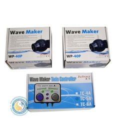 WP/RW Jebao Twins Wavemaker Pumps with Dual Controller