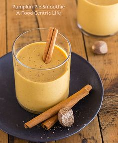 Pumpkin Pie Smoothie Recipe - RecipeChart.com