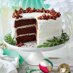 Gingerbread Cake with Buttermilk Frosting - MyRecipes