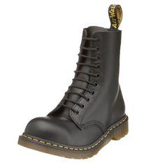 Dr. Martens Original 10 Eye Steel Toe Boot http://amzn.to/IQYM2F