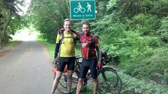 PMCer @TaylorJacobson completed his 51 day #PMC2012 training ride by cycling from Boston to Seattle with former PMCer Brendan Caine #PMCRideFinds