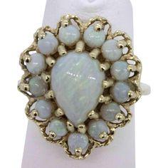 @rubylanecom shop vintage opal jewelry www.rubylane.com