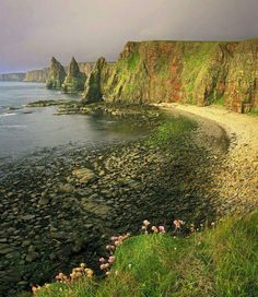 Isle of Kerrera near Oban. Scotland