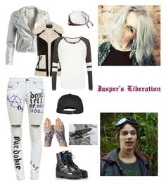 """""""Earth Skills"""" by sarcasmxisxmyxcharacterxflaw on Polyvore featuring art"""