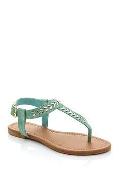 GODIVA Metal Detail Sandal by Assorted on @HauteLook