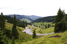 Mestecanis Pass Carpathians mountains Romania