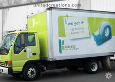 Vehicle Graphic Design By: United Creations, A Brand Powered Marketing Firm  In Seattle, WA.