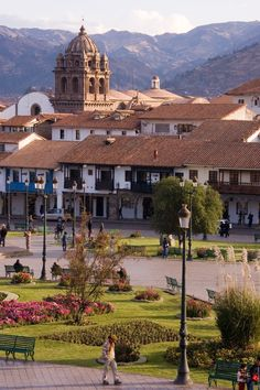Cusco, Peru Had to pin this- I can see the actual hotel room I stayed when I was there  #toocool