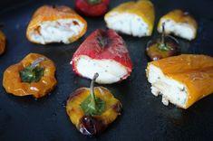 Mini poivrons apéritif farci Yummy Food, Tasty, Baked Potato, Sushi, Buffet, Stuffed Peppers, Baking, Vegetables, Ethnic Recipes