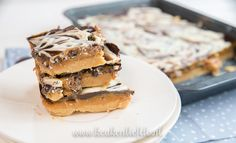 No bake Millionaire's shortbread Sweet Cooking, Fodmap, Shortbread, High Tea, Brownies, Yummy Cakes, Caramel, Sweet Tooth, Ice Cream
