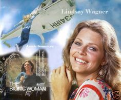 The Bionic Woman | karnius : The Bionic Woman Lindsay Wagner Mousepad