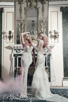 Pnina Tornai Butterfly-Inspired Bridal Collection