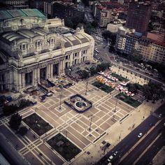 Milano vista dal pirellone