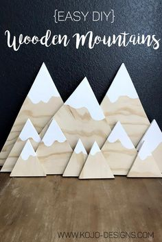 3 Fun And Easy DIY Woodworking Projects That You Can Complete This Weekend Diy Wooden Projects, Wooden Diy, Wood Crafts, Diy Crafts, Wooden Decor, Woodworking For Kids, Easy Woodworking Projects, Woodworking Furniture, Woodworking Tools