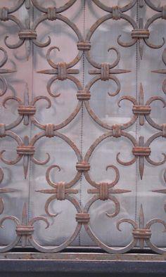Beautiful Venetian iron work