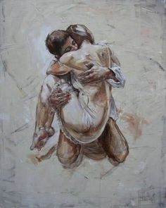 Shared by ρєαcнєvs. Find images and videos about love, art and couple on We Heart It - the app to get lost in what you love. Bisous Gif, Art Sketches, Art Drawings, Art Amour, Romance Art, Art Of Love, Oeuvre D'art, Erotic Art, Female Art