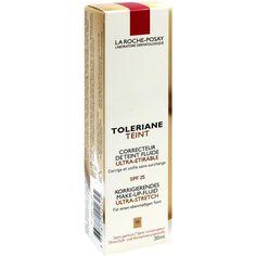 LA ROCHE-POSAY Toleriane Teint Fluid 15-R:   Packungsinhalt: 30 ml Flüssigkeit PZN: 06939356 Hersteller: L Oreal Deutschland GmbH Preis:…