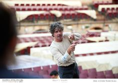 PROVE // LA TRAVIATA // 2012 // Foto Alfredo Tabocchini. Il Maestro Daniele Belardinelli dirige l'orchestra ne La Traviata degli specchi. #allieviemaestri #traviata #altrochelopera www.sferisterio.it