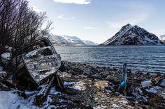 Boat, Old Boat, Shoreline, Fjord, Water #boat, #oldboat, #shoreline, #fjord, #water