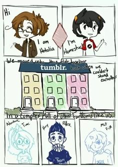 This NEEDS to become a webcomic or something! ((This is a fresh take on Fandomstuck I like it