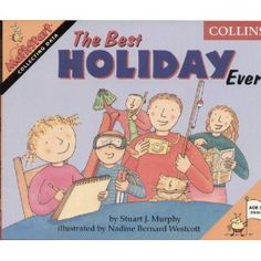 The Best Holiday Ever by Stuart Murphy Math Literature, Continuous Provision, Primary Maths, Numeracy, Picture Books, Holiday Fun, Shape, Teaching, Education