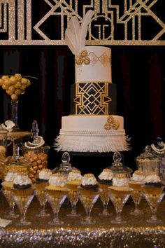 Nice 60+ Awesome Decorations Great Gatsby party Ideas  https://oosile.com/60-awesome-decorations-great-gatsby-party-ideas-10268
