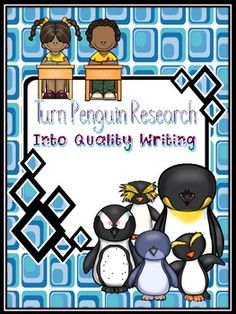 Begin your research project with a fun Web-Quest activity. The Web-Quest learning helps students choose which penguins they would like to study. After studying about four penguins and applying the new information to creating a foldable flip book, students are ready to write a 5-paragraph essay.