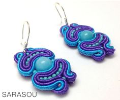 SS2014 #Sarasou #Basic #soutache #soutacheembriodery #earrings
