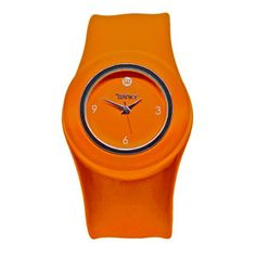 Orologio Tangerine orange by Winky Designs