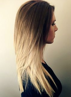 Ombré done dramatically but perfectly