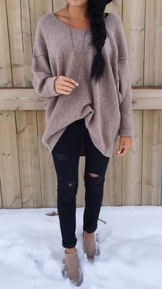 lovely casual fall outfit ideas to copy right now 43 ~ my.me lovely casual fall outfit ideas t. Casual Winter Outfits, Cool Outfits, Fashion Outfits, Fashion Trends, Outfit Winter, Fashion Ideas, Comfortable Winter Outfits, Womens Fashion, Friday Wear