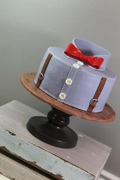 Shirt Cake great as an grooms cake, fathers day or just as a mens cake