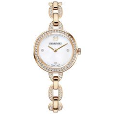 Aila Rose Gold Stainless Steel Bracelet Ladies Watch