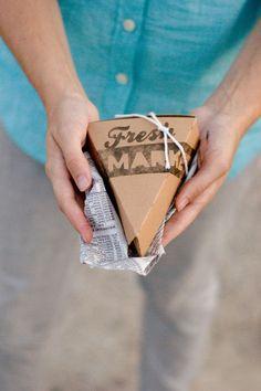 Easy DIY Market Stamps | Autumn Market party ideas | Confetti Sunshine