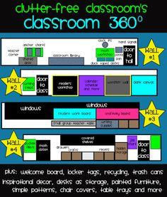 classroom design and makeover ideas