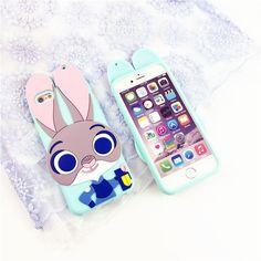 3D Smart Rabbit iPhone Case